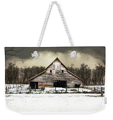 Waiting For The Storm To Pass Weekender Tote Bag by Julie Hamilton
