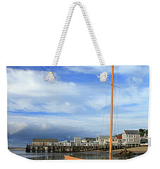 Waiting For The Tide Weekender Tote Bag by Roupen  Baker
