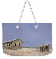 Waiting For The Train To Come Weekender Tote Bag