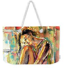 Waiting For You Weekender Tote Bag by Kovacs Anna Brigitta