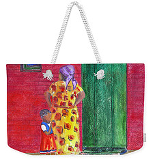 Waiting In Zimbabwe Weekender Tote Bag