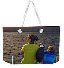 Waiting.......... Weekender Tote Bag