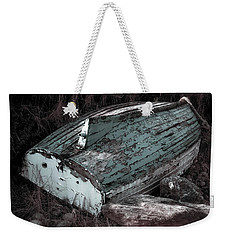Weekender Tote Bag featuring the photograph Waiting by Melissa Lane