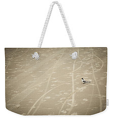 Waiting My Turn Weekender Tote Bag by Carolyn Marshall
