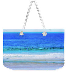 Waiting On A Wave Weekender Tote Bag