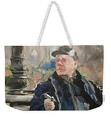 Waiting On The Bus Weekender Tote Bag