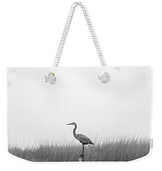 Waiting On The Fog To Clear Weekender Tote Bag