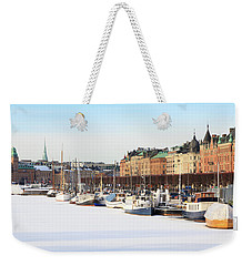 Waiting Out Winter Weekender Tote Bag