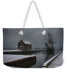 Waiting Quietly Weekender Tote Bag by Jeff Folger