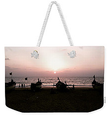 Waiting To Fish Weekender Tote Bag
