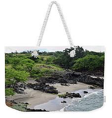 Weekender Tote Bag featuring the photograph Wai'ula'ula by Pamela Walton