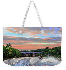 Wake Jumper  Weekender Tote Bag by Robert FERD Frank