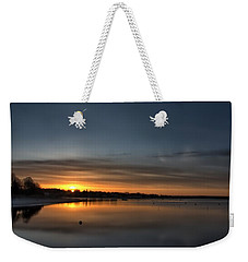 Waking To A Cold Sunrise Weekender Tote Bag