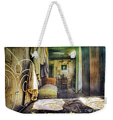 Waking Up In The Morning With George Weekender Tote Bag by Craig J Satterlee