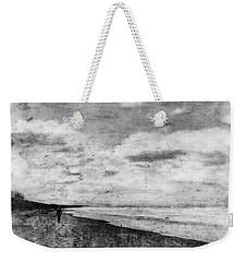 Walk Alone Weekender Tote Bag