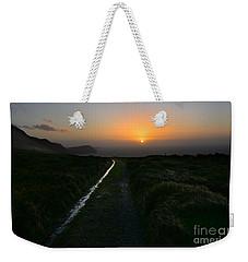 Walk Along The Coast At Eary Cushlin Weekender Tote Bag