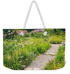 Walk Among The Wildflowers Weekender Tote Bag by Jessica Jenney