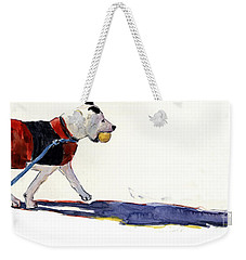 Walk In The Park Weekender Tote Bag by Molly Poole