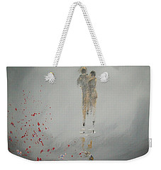 Walk In The Storm Weekender Tote Bag