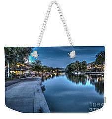 Walk On The Canal Weekender Tote Bag