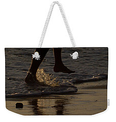 Weekender Tote Bag featuring the photograph Walk On Water by Chris Tarpening