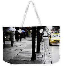 Walk Or Cab Weekender Tote Bag by Empty Wall