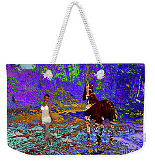 Walk The Enchanted Forest Weekender Tote Bag