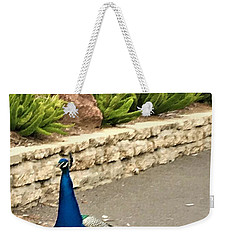 Walk The Line Weekender Tote Bag by Kruti Shah