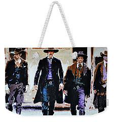 Walk This Way Weekender Tote Bag by Traci Goebel