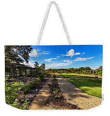 Walk Through The Garden Weekender Tote Bag by Ken Frischkorn