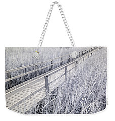 Walk Through The Marsh Weekender Tote Bag