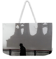 Walk Thru The Fog... Weekender Tote Bag by Anthony Fields
