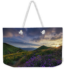 Weekender Tote Bag featuring the photograph Walker Canyon by Tassanee Angiolillo