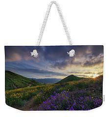 Walker Canyon Weekender Tote Bag by Tassanee Angiolillo