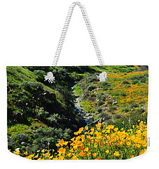 Weekender Tote Bag featuring the photograph Walker Canyon Vista by Glenn McCarthy Art and Photography