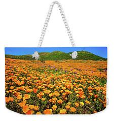 Walker Canyon Wildflowers Weekender Tote Bag