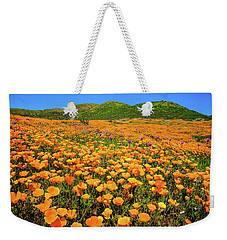 Walker Canyon Wildflowers Weekender Tote Bag