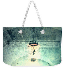 Weekender Tote Bag featuring the photograph Walkin' Home  by Mark Ross
