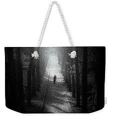 Walking Alone Weekender Tote Bag by Celso Bressan