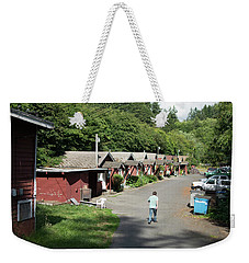 Walking Home Weekender Tote Bag