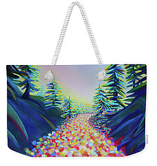 Walking In The Light Weekender Tote Bag