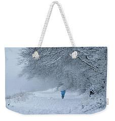 Walking In The Snow Weekender Tote Bag