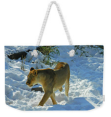 Walking On The Wild Side Weekender Tote Bag
