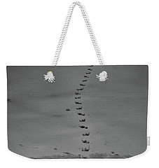 Walking On Thin Ice Weekender Tote Bag