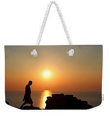 Walking Paradise Weekender Tote Bag