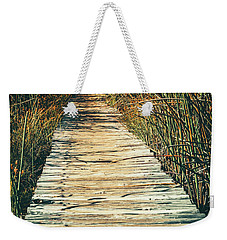 Weekender Tote Bag featuring the photograph Walking Path by Alexey Stiop