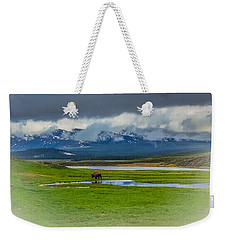 Walking The Big Valley Weekender Tote Bag by Yeates Photography