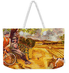 Walking The Dog After Gainsborough Weekender Tote Bag