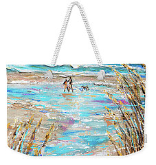 Walking The Dog IIi Weekender Tote Bag