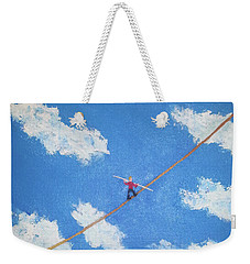 Walking The Line Weekender Tote Bag by Thomas Blood